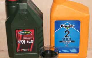 Как разбавить бензин с маслом