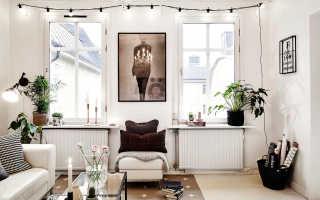 Серо белые стены в квартире