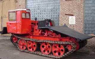 Трактор тдт 55 технические характеристики