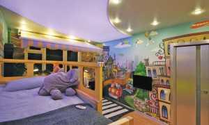 Натяжные потолки фото для детской спальни