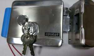 Как установить электромеханический замок на калитку