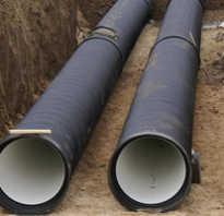 Системы водопровода и канализации