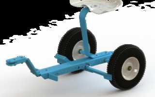 Руль на мотоблок