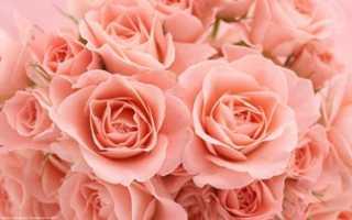 Картина с розами в спальне