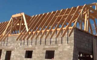 Мансардная крыша стропильная система чертежи