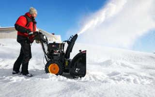 Роторная снегоуборочная насадка для мотоблока