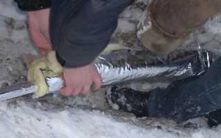 Чем утеплить полипропиленовые трубы в земле